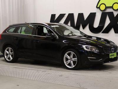 käytetty Volvo V60 D4 Business Classic Summum aut / Tulossa myyntiin Rovaniemelle / Ilmastointi / OnCall / Pa-toiminen lisälämmitin kellolla /