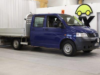 käytetty VW Transporter Transporter2.5TDI 4MOTION DOPPELKABINE-4X4 / Vetokoukku / Lohkolämmitin / Invertteri / 3-paik. / Alvillinen / 1-omistaja /