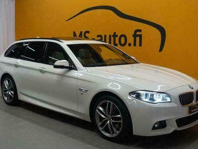 käytetty BMW 535 535 F11 Touring d A xDrive M-Sport #Panorama #Prof. Navi #Imuovet #Hifit #Muistipenkit #HARVOIN TARJO