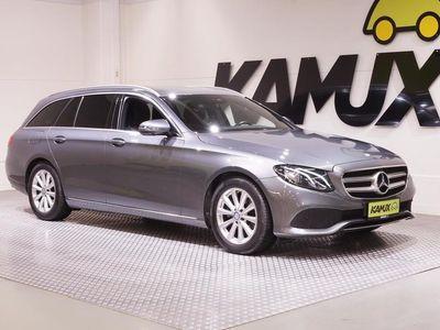käytetty Mercedes E220 Premium Business 9G-TRONIC # WIDESCREEN #COMAND NAVI #HIENO