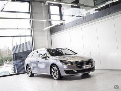 käytetty Peugeot 508 SW Allure BlueHDi Facelift Aut + Sport-istuimet + Panoraama + HUD + Tutkat