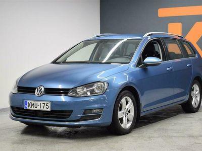 käytetty VW Golf Variant Highline 1,4 TSI 90 kW (122 hv) DSG-automaatti **Huippuvarusteet**