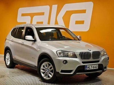 käytetty BMW X3 F25 xDrive30d TwinPower Turbo A ** Katsastettu 12.1! / Suomi-auto / Sporttipenkit / Sähkökontti / Cr