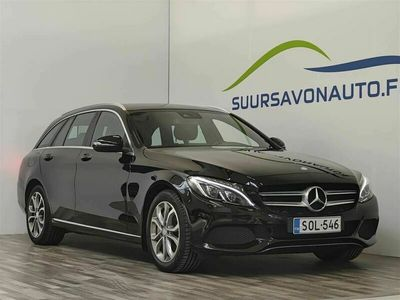 käytetty Mercedes C350e T A Premium Business **MERKKIHUOLLETTU / AIRMATIC / LED ILS / NAVI**