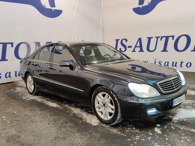 käytetty Mercedes S320 SCDI * Ministeritason mersu * Kotiintoimitus * Vaihto ja Rahoitus *