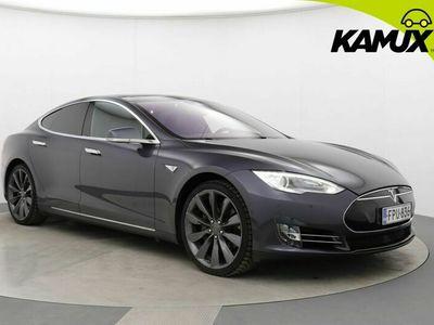 käytetty Tesla Model S 70D 4wd / Premiumpack / Autopilot / Panorama / Nahkasisusta
