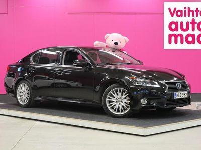 käytetty Lexus GS450H Hybrid A Premier #Suomi-auto #Huippuvarusteet #Nahat #Muisti #HUD #Adapt.Vakkari #1-Omistaja