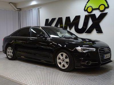 käytetty Audi A6 S-LINE Sedan Land of quattro Edition 2,0 TDI 140 kW quattro S tronic **Sporttipenkit / Bluetooth / Tutkat yms.