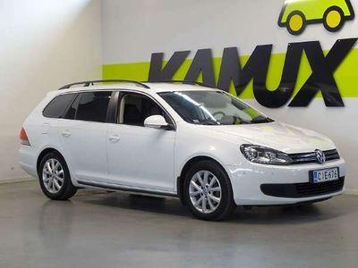 käytetty VW Golf Variant Comfortline 1,4 TSI 90 kW (122 hv) DSG-automaatti / Suomi-auto / Lohkolämmitin / Vakkari