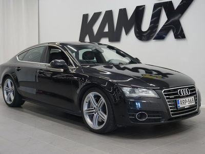 käytetty Audi A7 3,0 V6 TDI Biturbo 230 kW quattro tiptronic **S-LINE, ADAPTIIVINEN VAKKARI, BOSE, WEBASTO**