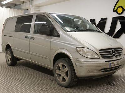 käytetty Mercedes Vito 115CDI -2,94/32K keskipitkä A2 4x4 Aut.