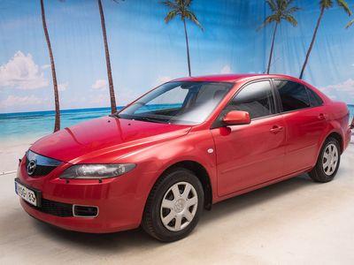 käytetty Mazda 6 2.0 Elegance 6MT ** LOHKO&SISÄ.P // VAKKARI // AUTO-ILMASTOINTI ** - *SUURI VARASTONTYHJENNYS!*