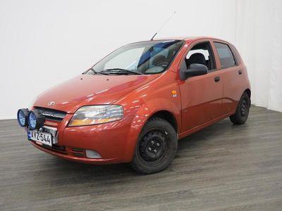 käytetty Chevrolet Kalos 1,2 8V SX 5d A/C - Suomiauto, Huoltokirja, Kahdet renkaat, Moottorilämmitin ja sisätilapistoke