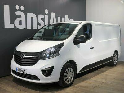 käytetty Opel Vivaro Van Edition L2H1 1,6 CDTI Bi Turbo ecoFLEX 92kW MT6 // Eber, Koukku, Navi, ALV, Tutka // **** LänsiAuto Safe -sopimus hintaan 590€. ****