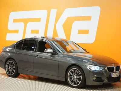 käytetty BMW 330 TwinPower Turbo A F30 Sedan M SPORT ### NORMAL FRIDAY -hinta! ### ** Navi / Sporttipenkit / Kattoluu