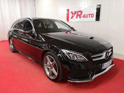 käytetty Mercedes C350e T Aut. *AMG* Edition *Suomiauto & Webasto* SISÄVALOPAKETTI!