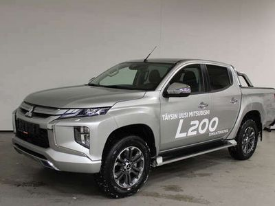 käytetty Mitsubishi L200 Double Cab 2,2 Di-D Intense AT 2-paikkainen - Tähän autoon rahoituskorko vain 1,99%!