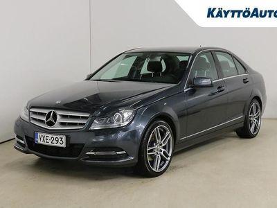 käytetty Mercedes C200 CDI BE A Premium Business *HYVIN PIDETTY SUOMI-AUTO, ILS-VALOT, NAVI, KOUKKU*