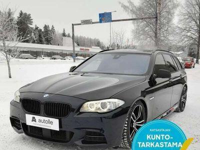 käytetty BMW M550 d *NELIVETO* F11 xDrive A Tarkastettuna, Rahoituksella, Kotiin toimitettuna!