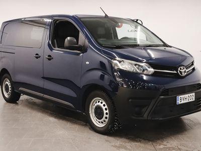 käytetty Toyota Proace L1 2,0 D 120 (MY18.2)*1-om suomiauto,webasto,peruutuskamera,koukku*