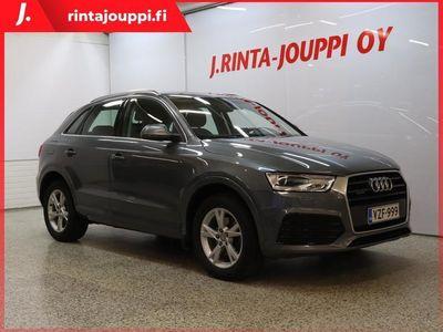 käytetty Audi Q3 Land of quattro Edition 2,0 TDI clean diesel 110 kW quattro S tronic 6kk kuluton ja