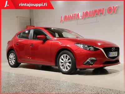 käytetty Mazda 3 5HB 2,0 (120) SKYACTIV-G Sendo Edition 6AT 5ov BP3S *Kamera / Navi / 1.om / Suomi-auto / Lämmitin*