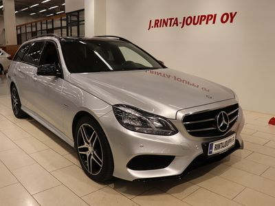käytetty Mercedes E220 BlueTec T 4Matic A AMG Line *NAVI,HARMAN KARDON,KOUKKU*