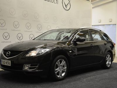 käytetty Mazda 6 Sport Wagon 1,8 Elegance Business 5MT 5ov WB4 Korko 1,99%! Bose, Cruise, Auto AC, Lohko+sisäpistok