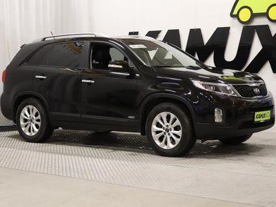 käytetty Kia Sorento 2,2 CRDi AWD EX A/T / 7-Paikkainen / P-kamera / Panoraama / Navi / Ilmastoidut etuistuimet / Nahkave