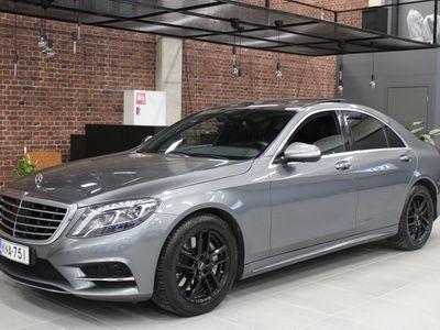 käytetty Mercedes S350 d 4MATIC AMG-paketilla / HUIPPUVARUSTEIN! *Vaihto / Rahoitus*