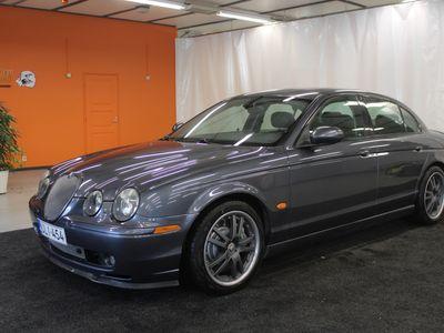 käytetty Jaguar S-Type R V8 Supercharged AT **HUIPPUHIENO,REMMIAHDETTU, n.400hp**
