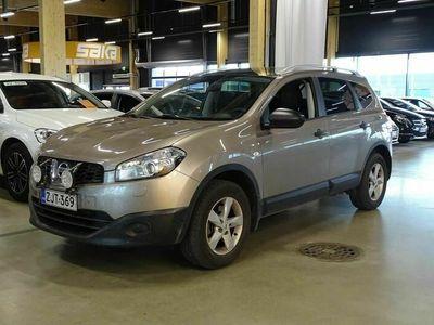 käytetty Nissan Qashqai +2 1,6L Stop / Start System Visia 2WD 5M/T Cruise ** 7-ist / 2-om Suomiauto / Lasikatto / Koukku **