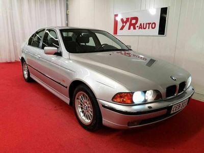 käytetty BMW 523 i E39 1-OMISTEINEN SUOMIAUTO! TODELLA HIENO!