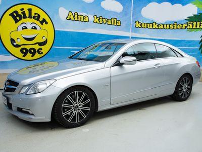 käytetty Mercedes E350 CDI BE Coupé A Facelift // V6 TEHOMYLLY / 4 PUTKEA TAKANA / P.KAMERA / NAVI / NAHAT / COMAND / ILS // - *HULLUT AUTOMARKKINAT!!!*