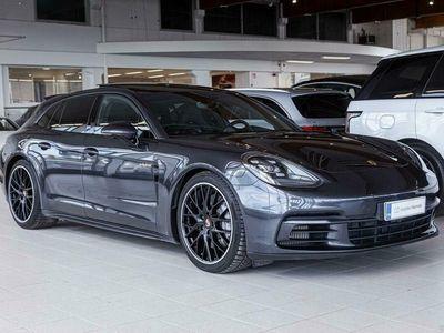 käytetty Porsche Panamera 4 *VARUSTELTU!* 4 E-Hybrid Sport Turismo Tarkastettuna, Rahoituksella, Kotiin toimitettuna!