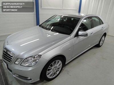 käytetty Mercedes E300 CDI 7G-Tronic Plus Elegance TEHOKAS EEMELI SOPIVASTI! HYVILLÄ VARUSTEILLA! RAHOITUSKORKO 0.95%!