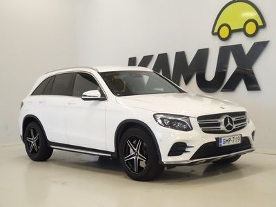 käytetty Mercedes GLC220 GLCd 4MATIC 9G-Tronic | AMG | Burmester | Peruutuskamera |