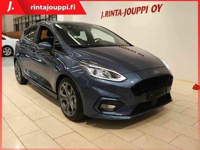 käytetty Ford Fiesta 1,0 EcoBoost 125hv A7 ST-Line 5-ovinen *** 0 % korko, 0 € kulut, J. kotiintoimitus