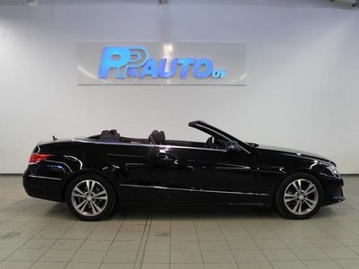 käytetty Mercedes E200 Cabriolet A - Black Friday korko 0,99% - kasko -33% - 1.erä helmikuussa!
