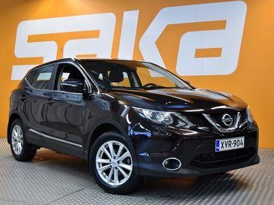 käytetty Nissan Qashqai 1,2L Acenta 2WD 6M/T Safety Pack ** TULOSSA SAKA LAPPEENRANTAAN! **