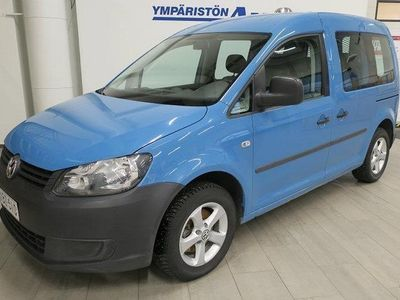 "käytetty VW Caddy Kombi 1,6 TDI 75 (VM12) ""korko tarjous 0% + kulut"""