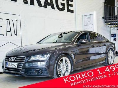 käytetty Audi A7 3,0 V6 TDI 180 kW quattro S tronic S-LINE / Adap.vakkari / Navi / Webasto / Lasiluukku / Sport-Nahka / Bose / Korko 1,49 %