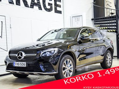 käytetty Mercedes GLC350 e Coupé 4Matic A Premium Bsn AMG / Kamera / Sähköluukku /