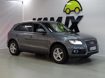 käytetty Audi Q5 Business Plus 2,0 TDI 140 kW quattro S tronic / ALV- / SUOMI-AUTO / 1-OMISTEINEN / LISÄLÄMMITIN / SP