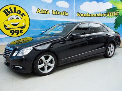 käytetty Mercedes E220 CDI A Avantgarde *Navi *Erittäin siisti yksilö! *Minimihyvitys 2000€!