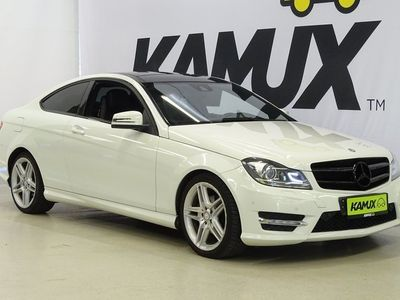 käytetty Mercedes C220 CDI BE Coupé Amg *Tulossa myyntiin* // Amg sisä- ja ulkopaketti / Facelift / Navi / Ils / Panorama / Kaukovaloautomatiikka //