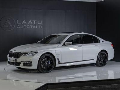 käytetty BMW 740 e iPerformance *M-sport *Shadowline *TV:t *Hieronnat *Ilma-alusta *Laservalot *Kattoluukku *Bowers&W
