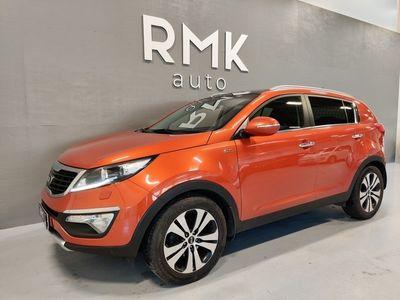 käytetty Kia Sportage 2,0 AWD CRDi-R TX LIMITED A / Panorama /. *Myös vaihto ja Rahoitus*