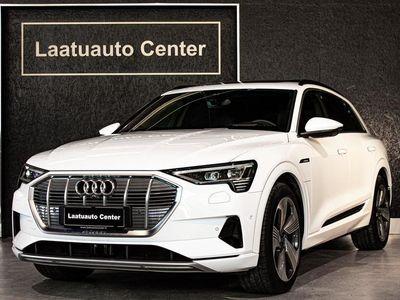 käytetty Audi E-Tron - Advanced 55 Quattro *Bang&Olufsen, Head-up, Nahkasisusta, Panoramalasikatto, Matrix-Led, Mmi Navi+,