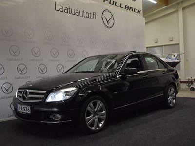 käytetty Mercedes C350 CCDI Sedan A Avantgarde ,Korkotarjous 1,99%+kulut, Xenon-valot, Nahkasisusta, Navi ja paljon m